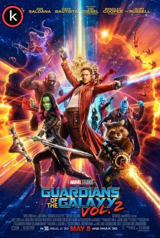Guardianes de la galaxia Vol 2 DVDrip