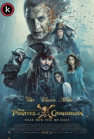 Piratas del Caribe 5 La venganza de Salazar