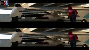 Spider-man Homecoming 3D