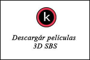 Descargár películas 3D SBS por torrent