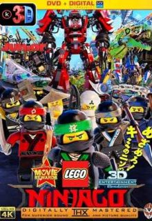 La Lego Ninjago película (3D)