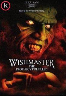 Wishmaster 4 La profecía (HDrip)