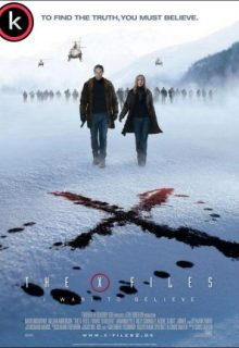 X-Files Creer es la clave (DVDrip)