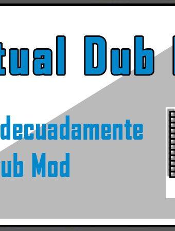 Descargar e instalar Virtual Dub Mod