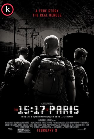 15:17 Tren a París (HDrip)
