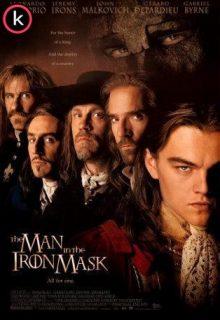 El hombre de la máscara de hierro (DVDrip)
