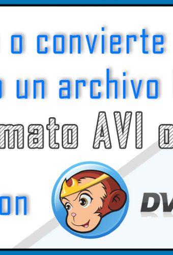 Ripear un dvd ISO a avi o mkv con DVD FAB
