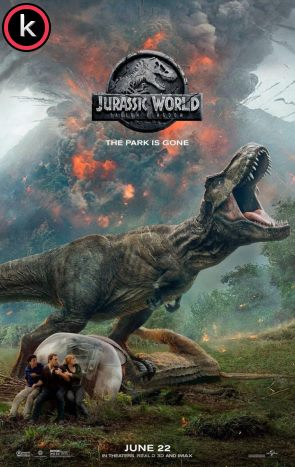 Jurassic World 2 El reino caído (HDrip)