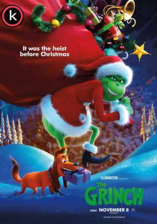 El grinch (HDrip) Latino