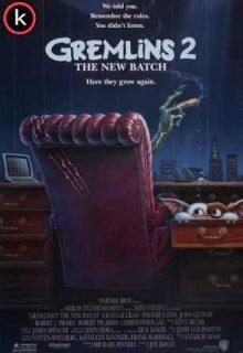 Gremlins 2 La nueva generación (DVDrip)