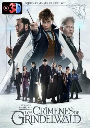 Animales fantasticos Los crimenes de Grindelwald (3D)