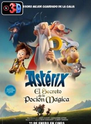 Asterix el secreto de la pocion magica (3D)