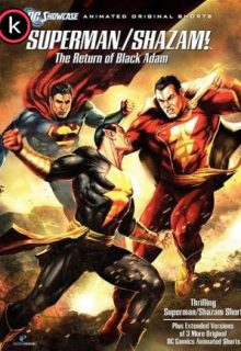 Superman Shazam! El regreso de black Adam (HDrip)