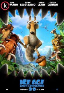 Ice age 3 el origen de los dinosaurios (DVDrip)