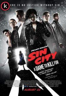 Sin city 2 una dama por la que matar (HDrip)