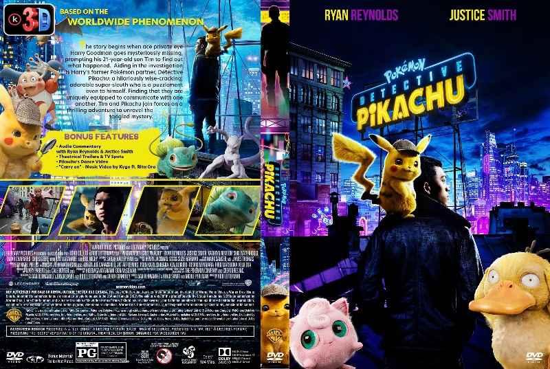 Pokemon Detective Pikachu (3D)