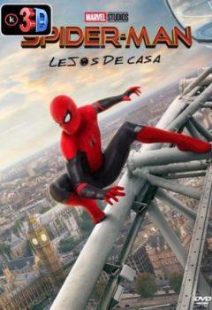Spider Man Lejos de casa (3D)