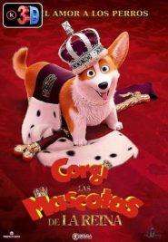 Corgi las mascotas de la reina (3D)