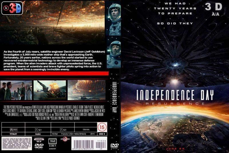 Independece Day 2 Contraataque (3D)