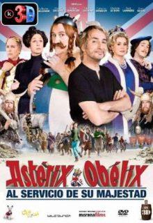 Asterix al servicio de su majestad (3D)