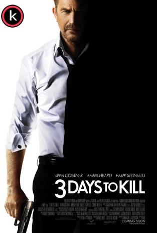 3 dias para matar (HDrip)