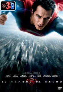 El hombre de acero Superman 3D