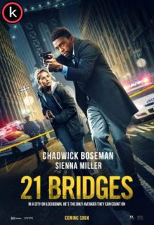 21 bridges 2020 (HDrip) Latino