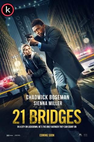 21 bridges 2020 (HDrip) Latino