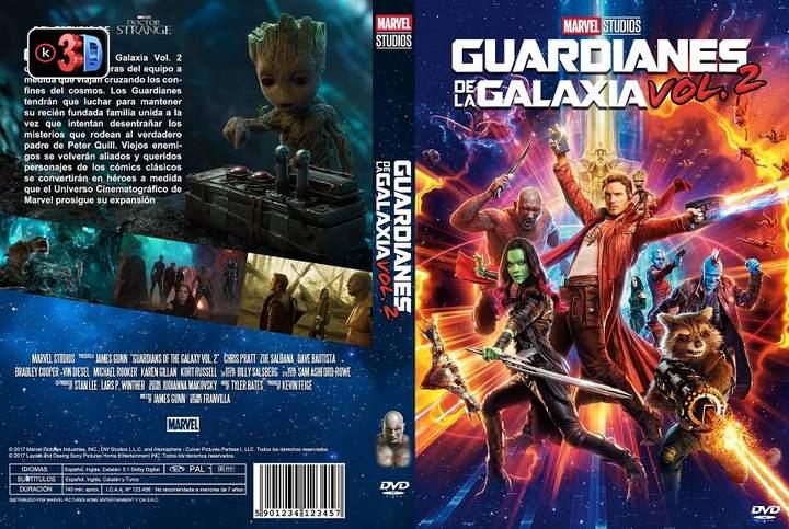 Guardianes de la Galaxia Vol.2 (3D)