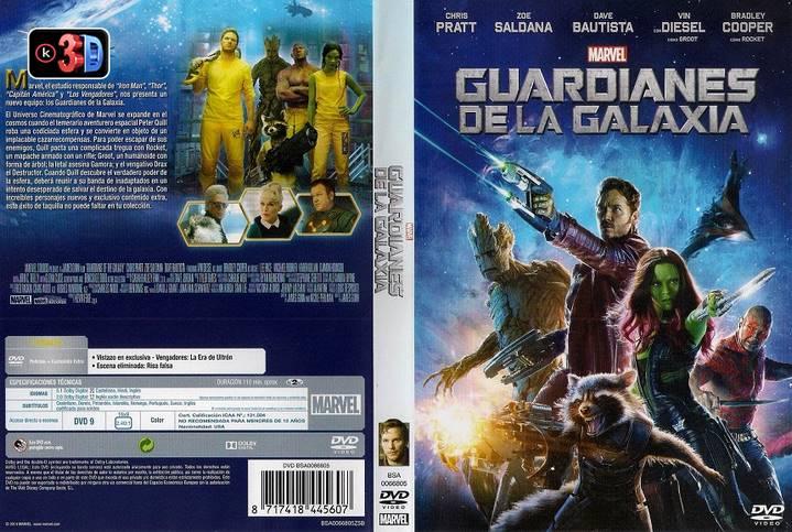 Guardianes de la Galaxia 2014 (3D)