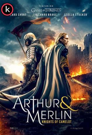 Arturo y Merlin cavalleros de Camelot por torrent
