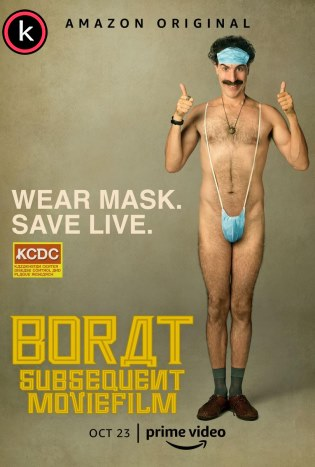 Borat película film secuela por torrent