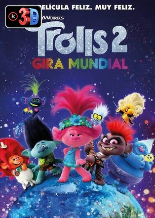 Trolls 2 gira mundial (3D)