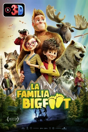 La Familia Bigfoot (3D)