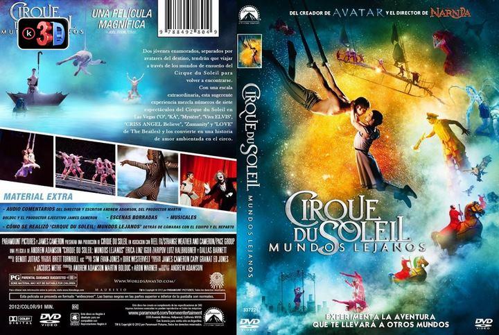 Cirque du soleil mundos lejanos (3D)