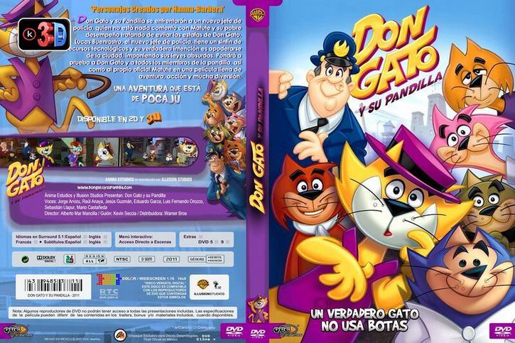 Don Gato y su pandilla 2011 (3D)