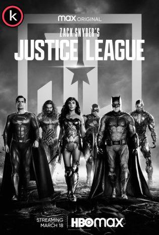 La liga de la justicia de Zack Snyder por torrent