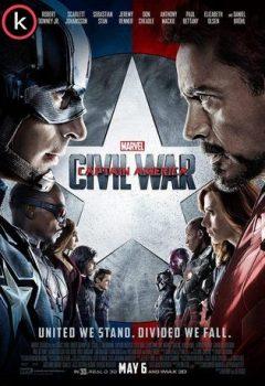 Capitan America Civil War - Torrent