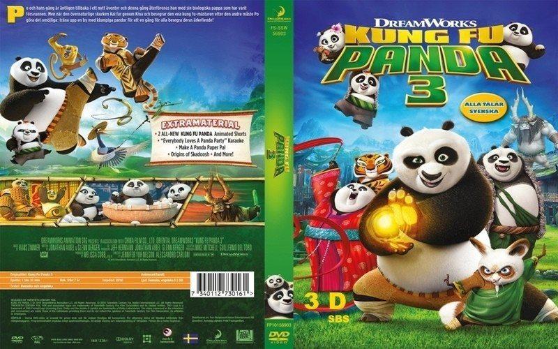 Kung Fu Panda 3 - swe retail DVD