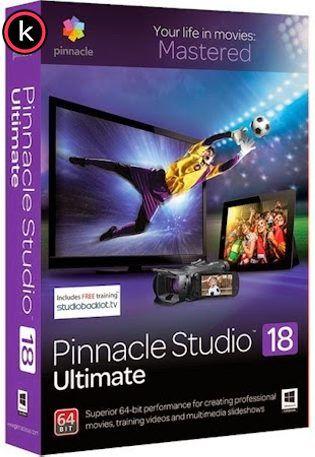 Pinnacle Studio Ultimate v18 Multilenguaje