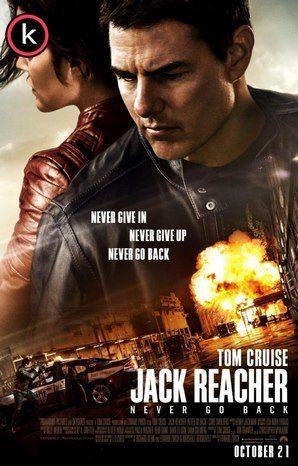 Jack Reacher 2 Nunca vuelvas atras por torrent